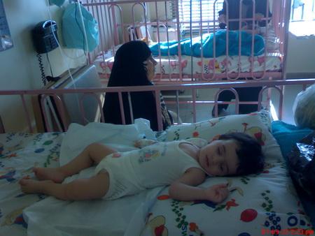 محمدم به حق اسمت هیچ بچهای رو تخت بیمارستان نباشه